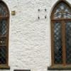 Kose kiriku taastatud aknad