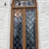 Kose kiriku taastatud aken