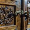 Restaureeritud Rüütelkonna hoone ukse detailid 2012a