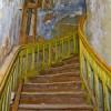Taastamiseelses seisus Trepp Villa Mon Repos
