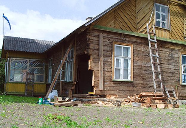 Hoonete puitkonstruktsioonide restaureerimine